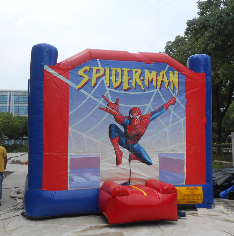 FU-BO17 Spiderman Inflatable Bouncer