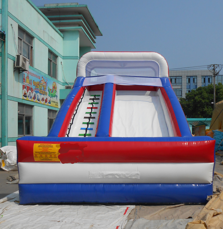 FU-GS12 Flag Dry Inflatable Slide
