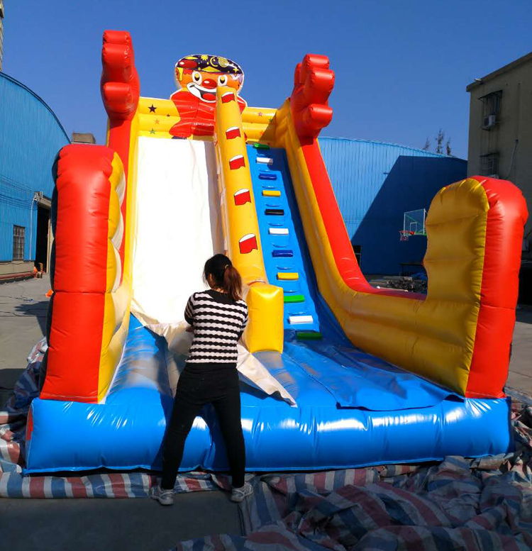 FU-GS14 Clown Dry Inflatable Slide