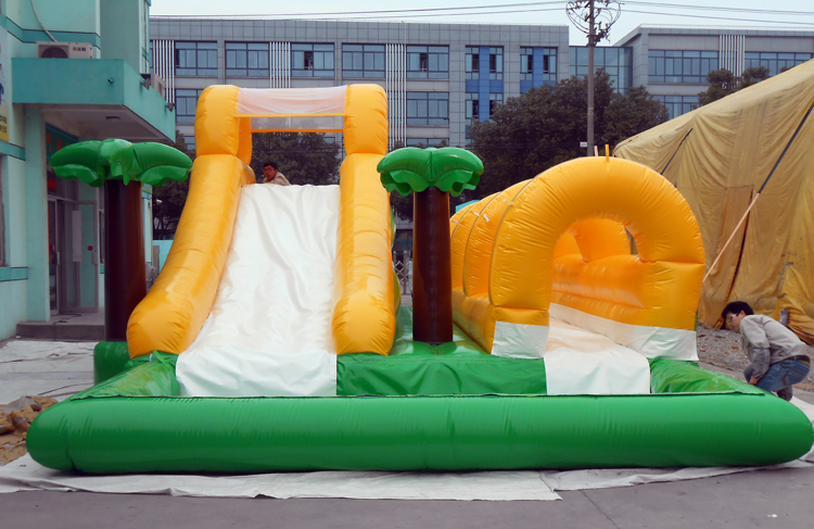 FU-WS12 Water Inflatable Slide