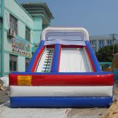 FU-GS12 Flag Dry Inflatable Slide