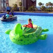 FNM-01 Plastic Kids Electric Bumper Boat