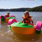 FNP-01 Plastic Mini Paddle boat