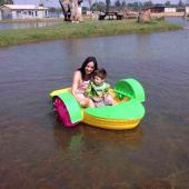 FNP-04 Plastic Adult Paddle Boat
