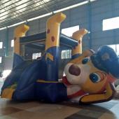 FU-BO55  Small Dog Inflatable Bouncer
