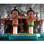 FU-FC15 Sumo Cartoon Inflatable Jump City