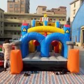 FU-FC68 Inflatable Slide Jump City