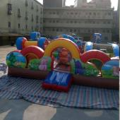 FU-FC12 6.2*5.8 Mini Inflatable City Jump