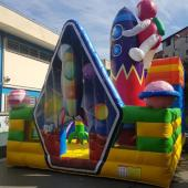 FU-FC71 Rocket Inflatable Jump City