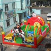 FU-FC20 Cartoon Inflatable Jump City