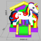 FC-CB51 FC-CB51 Mini Pony Inflatable Combo