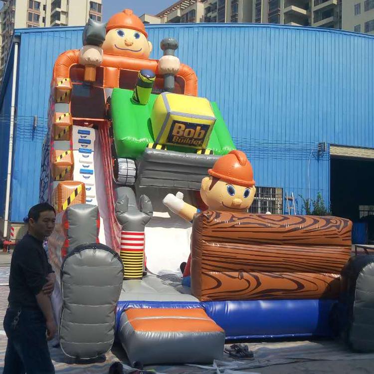 FU-GS25 Robert Inflatable Grass Slide
