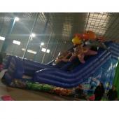FU-GS71 Octopus Inflatable Grass Slide