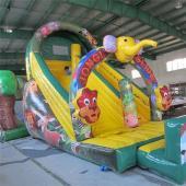 FU-GS07 Elephant Dry Inflatable Slide